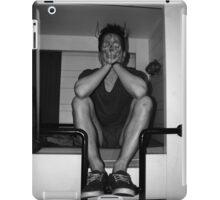 sitting in my own sadness iPad Case/Skin