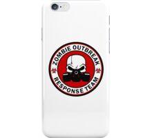 Zombie Outbreak Response Team Skull Gas Mask iPhone Case/Skin
