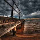 Frankston Pier by mellosphoto