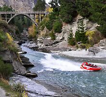 Shotover River  by TedmBinegas