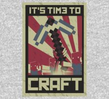 Minecraft Propaganda communist russia red star revolution poster by KokoBlacksquare