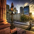Melbourne sunset 2 by mellosphoto