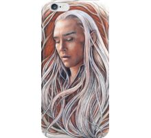 Portrait of the king iPhone Case/Skin