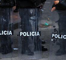 Police Riot Shields by rhamm