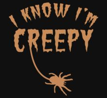 I know I'm CREEPY! with spider by jazzydevil