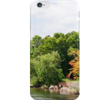 View over River Kwai, Kanchanaburi province, Thailand iPhone Case/Skin