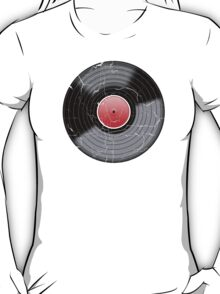 Vinyl Record 2 Worn Well (please see description) T-Shirt