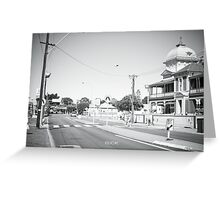 Maylands - 8th February, 2014. Greeting Card