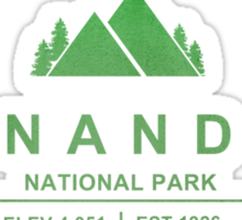 Shenandoah National Park, Virginia Sticker