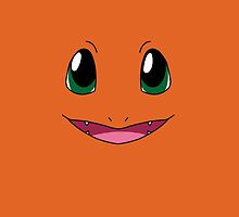 Charmander Face Pokemon by Dman329