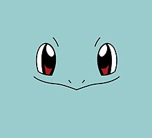 Squirtle Face / Pokemon by Dman329