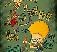 Beavis and Butthead by daffyfan83