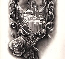 Victorian Mirror by Hannah Falvey