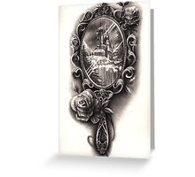 Victorian Mirror Greeting Card