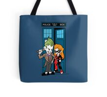 Madman in a Blue Box Tote Bag