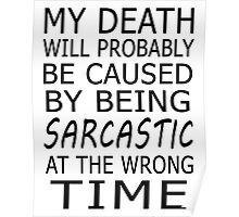SARCASTIC DEATH Poster