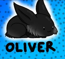 Oliver the Bunny by suzylovessushi