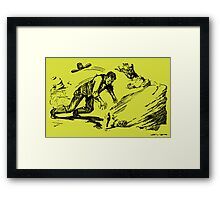 Sheriff Brimstone Framed Print