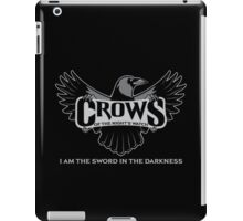 Team Crows of the Night's Watch iPad Case/Skin