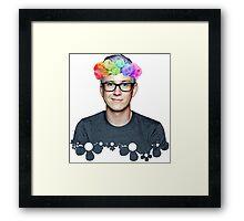 Tyler Oakley 2 Framed Print