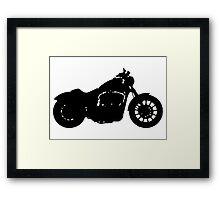 Harley Davidson Iron Framed Print