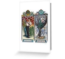 K-Science, Mucha Style! Greeting Card