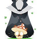 Fangi and Badger by JimHiro