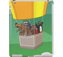 Balloon Birds (flight of the flightless) iPad Case/Skin