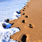 Footprints in the sand... by Poete100