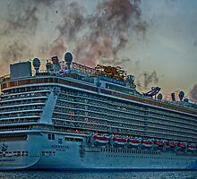 NORWEIGIAN  BREAKAWAY {Royal Naval Dockyard Bermuda} by buddybetsy