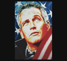 Paul Newman America in 100% Sharpie Marker by JMCSharpieArt
