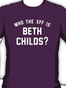 WTFIBC? (CLEAN VERS.)(WHITE TEXT) T-Shirt