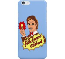 """""""New Fish-Fingers and Custard!"""" iPhone Case/Skin"""