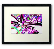 Espeon   Psybeam Framed Print
