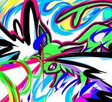 Shiny Espeon | Psybeam by ishmam