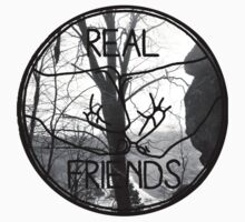 Real Friends Logo  by clairvorant