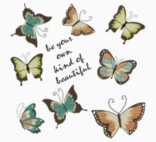 Be Your Own Beautiful Butterflies by pencreations