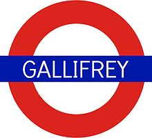 Gallifrey Station- Doctor Who by -gallifreya-