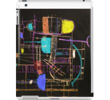Playing in Asnieres 2d iPad Case/Skin