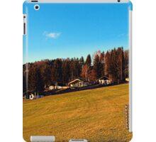 Village scenery with fences | landscape photography iPad Case/Skin