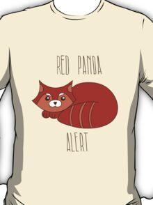 Red panda alert T-Shirt