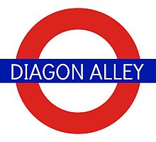 Diagon Alley Station - Harry Potter Photographic Print