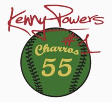 """Charros 55 Baseball"" Kenny Powers #1 by tragbar"