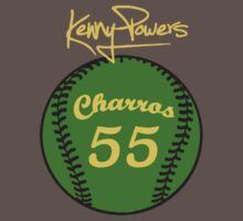 """Charros 55 Baseball"" Kenny Powers  by tragbar"