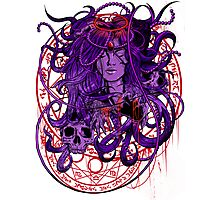 Heartless Purplered Photographic Print