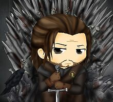 Ned Stark - Game of thrones by SandSnow