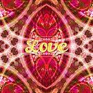 Tribal Geometry Love (pinky) by webgrrl