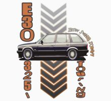 BMW E30 Touring black-2 by BSsociety