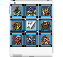 Megaman 2 Boss Select (with Sprites) iPad Case/Skin