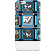 Megaman 2 Boss Select (with Sprites) iPhone Case/Skin